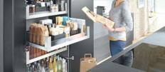 Оптимальные варианты организации хранения на кухне