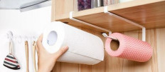 Виды держателей для кухонного полотенца