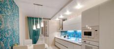Стильные идеи как расположить светильники на кухне