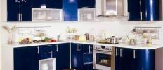 Плюсы и минусы кухни с крашеными фасадами