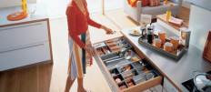 Основные правила наполнения кухонных шкафов
