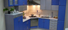 Фото дизайна интерьера — угловые кухни