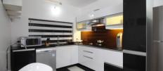 Кухни черно-белого цвета