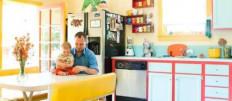 57 идей яркого и колоритного дизайна кухни