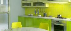 Cалатовые кухни в интерьере вашего дома