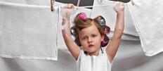 Как постирать и отбелить кухонное полотенце