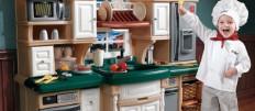 Как сделать детскую игровую кухню для девочек