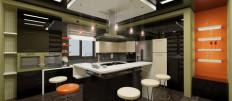 Проекты интерьеров огромной кухни 16 квадратных метров