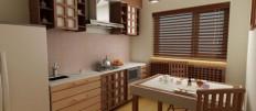 Популярные стили кухонных гарнитуров и фартуков