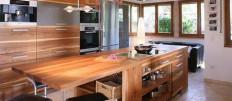 Какие бывают размеры столешницы для кухни: стандартные и необычные