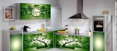 Обзор про алюминиевые фасады для кухни