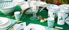 Варианты красивой сервировки стола к обеду