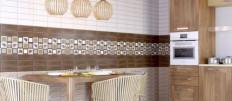 Стильные стеновые панели ПВХ для кухни