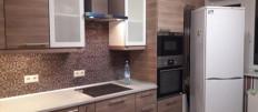 Кухня Икеа Воксторп в современном интерьере