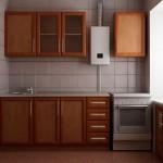 Кухни в хрущевках с газовой колонкой