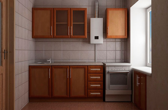 Дизайн интерьера кухни хрущевки фото