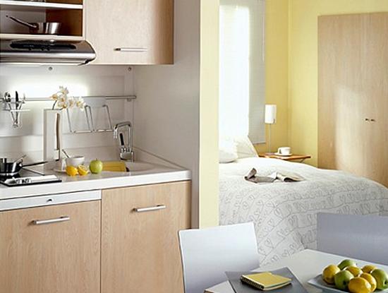 кухня 6 кв.м дизайн на фото