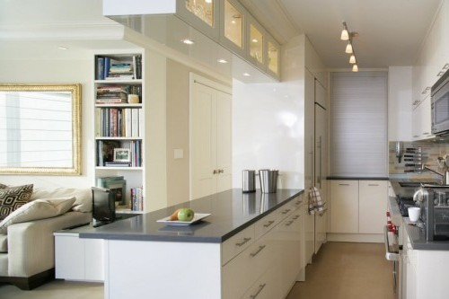 for Galley kitchen layouts for small spaces