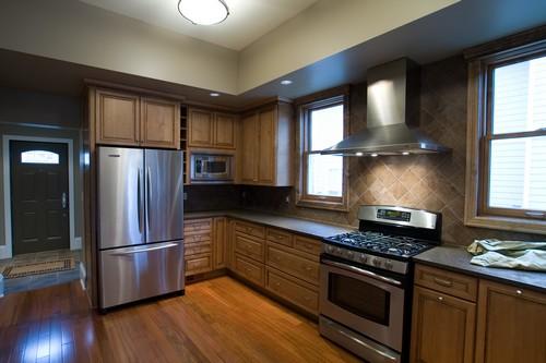 кухни студии на фото