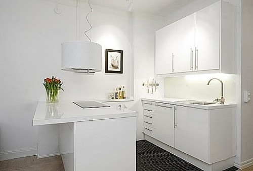 кухни студии на фото в картинках