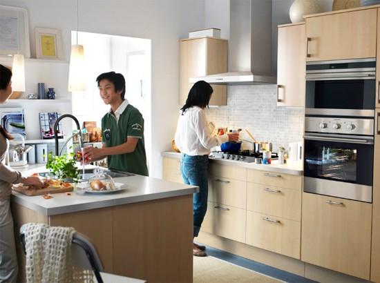 Дизайн интерьера маленьких кухонь