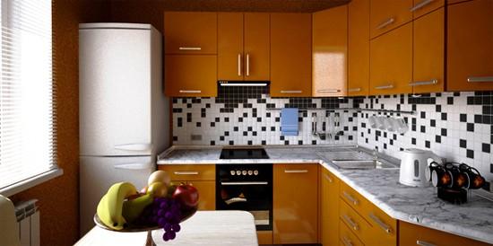 кухня маленького размера