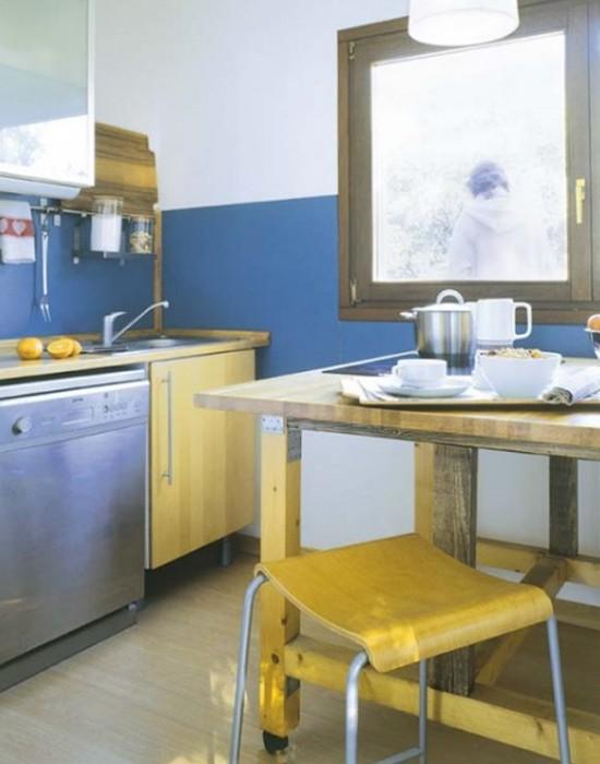 фото дизайна интерьера маленьких кухонь