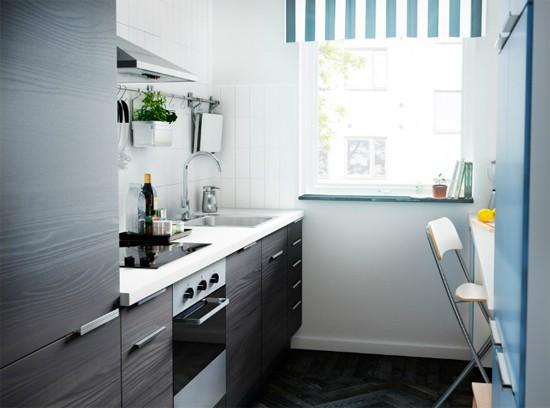мебель в малогабаритных кухнях