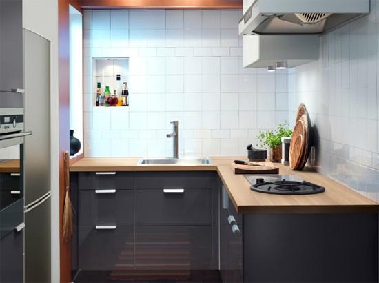 Дизайны маленьких кухонь в картинках