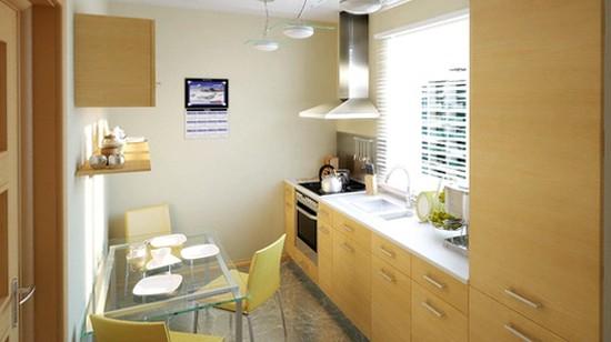 фото дизайна интерьера малогабаритной кухни