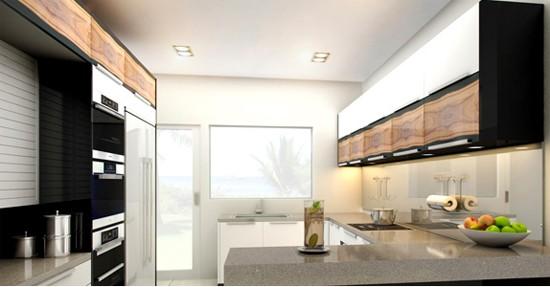 фото интерьера малогабаритной кухни