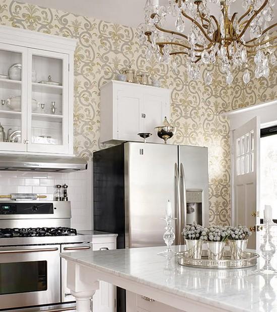 Обои для кухни - фото дизайна в ...: vyborkuhni.ru/oboi-dlya-kuxni-foto