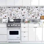 Обои для кухни — дизайн в фото