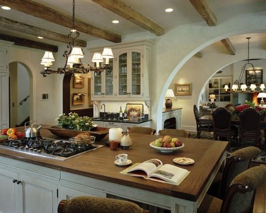 кухня в деревенском стиле (22)