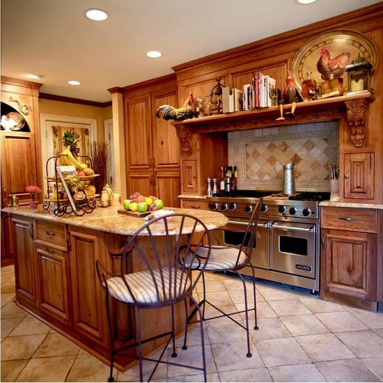 кухня в деревенском стиле (21)