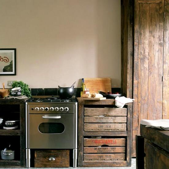 кухня в деревенском стиле (20)