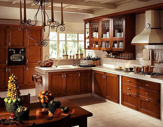 кухня в деревенском стиле (18)