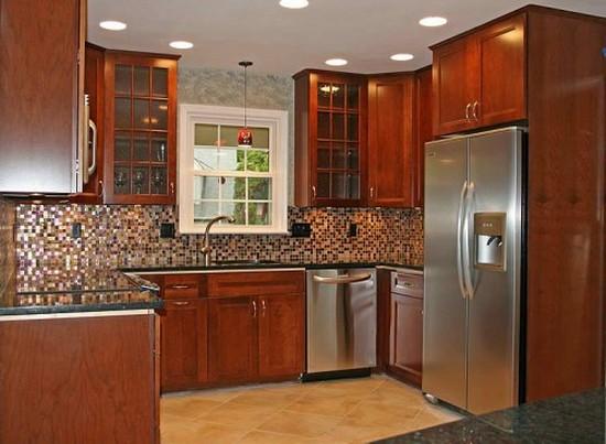 кухня в деревенском стиле (16)
