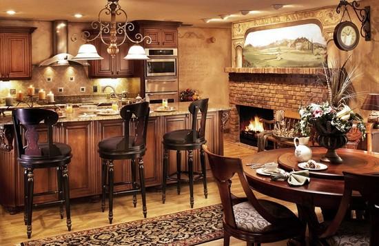 кухня в деревенском стиле (15)