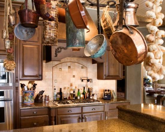 кухня в деревенском стиле (13)