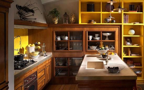 кухня в деревенском стиле (12)