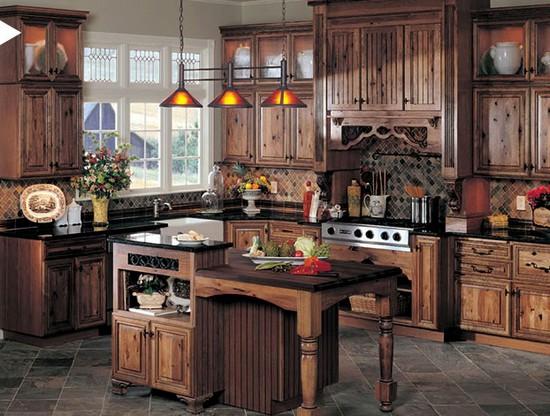 кухня в деревенском стиле (10)