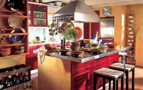 кухня в деревенском стиле (9)