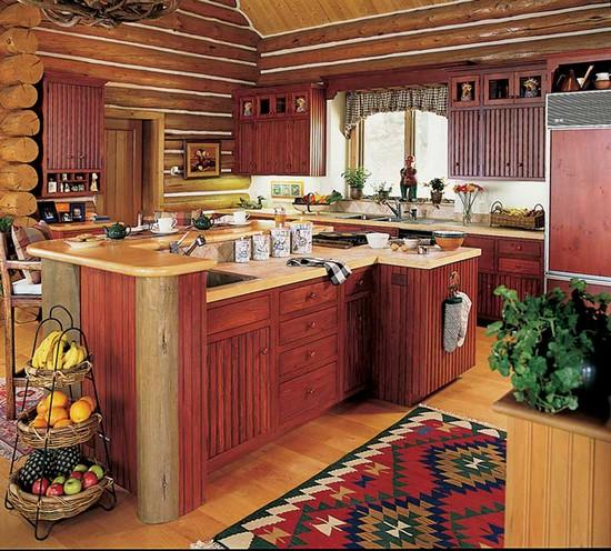 кухня в деревенском стиле (8)