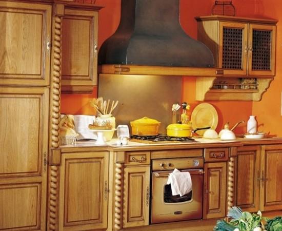 кухня в деревенском стиле (6)
