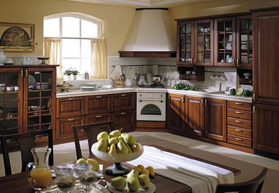 кухня в деревенском стиле (5)