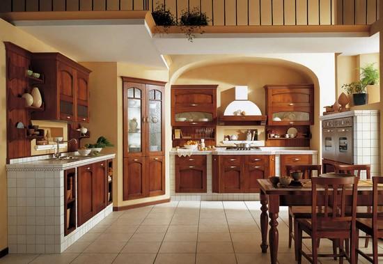 кухня в деревенском стиле (4)