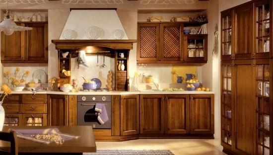 кухня в деревенском стиле (3)