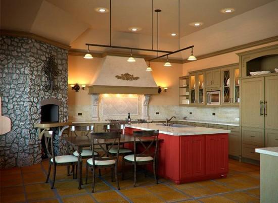 кухня в деревенском стиле (2)