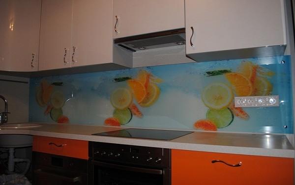 фартук для кухни из пластика на фото (11)